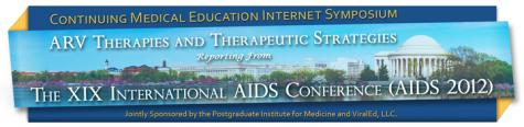AIDS 2012 - Web Symposium