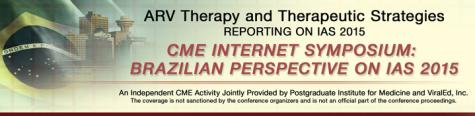 7/31 REPLAY AVAILABLE - Brazil Internet Symposium - Independent Reporting on IAS 2015