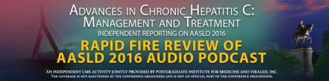 Rapid Fire Review of AASLD 2016 - Audio Podcast