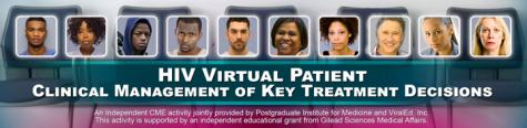 HIV Virtual Patient - 2017 - New Cases Now Available
