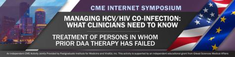 On-Demand Program Available - CME Webcast - HCV/HIV Co-Infection - Failed DAAs