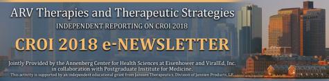 CROI 2018 - e-Newsletter