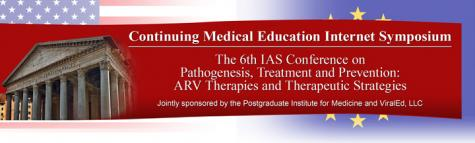 he 6th IAS Conference on Pathogenesis, Treatment and Prevention: ARV Therapies and Therapeutic Strategies