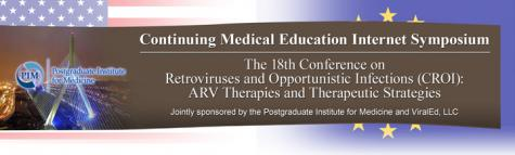 The 18th CROI: ARV Therapies and Therapeutic Strategies